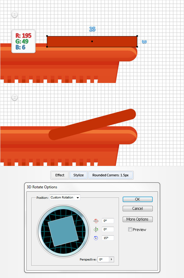 How to Create a Shopping Basket Icon in Adobe Illustrator 20