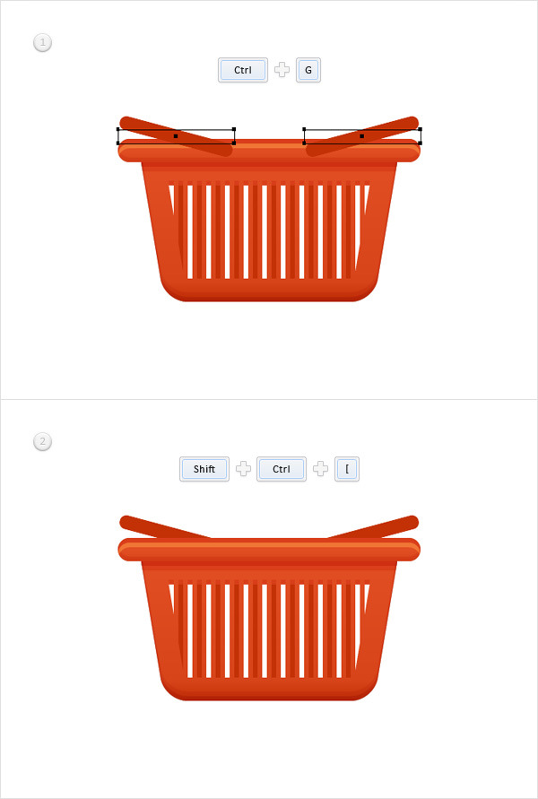 How to Create a Shopping Basket Icon in Adobe Illustrator 21