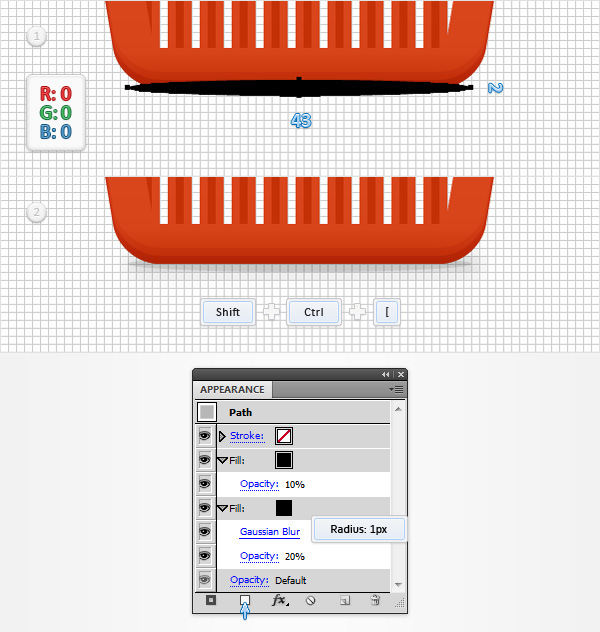 How to Create a Shopping Basket Icon in Adobe Illustrator 22
