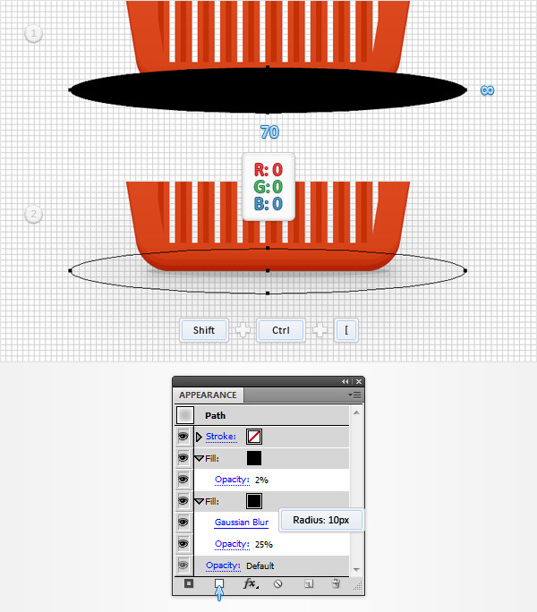 How to Create a Shopping Basket Icon in Adobe Illustrator 23