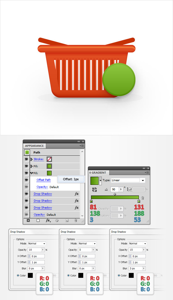 How to Create a Shopping Basket Icon in Adobe Illustrator 26