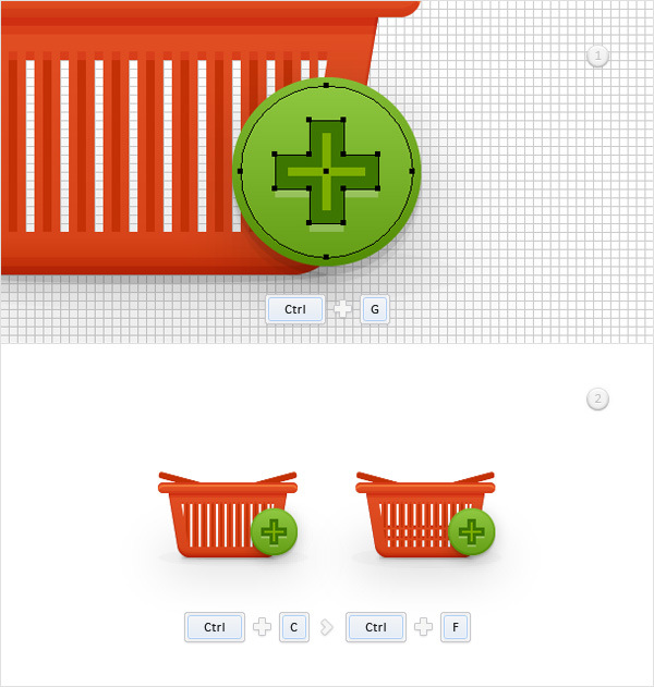 How to Create a Shopping Basket Icon in Adobe Illustrator 28