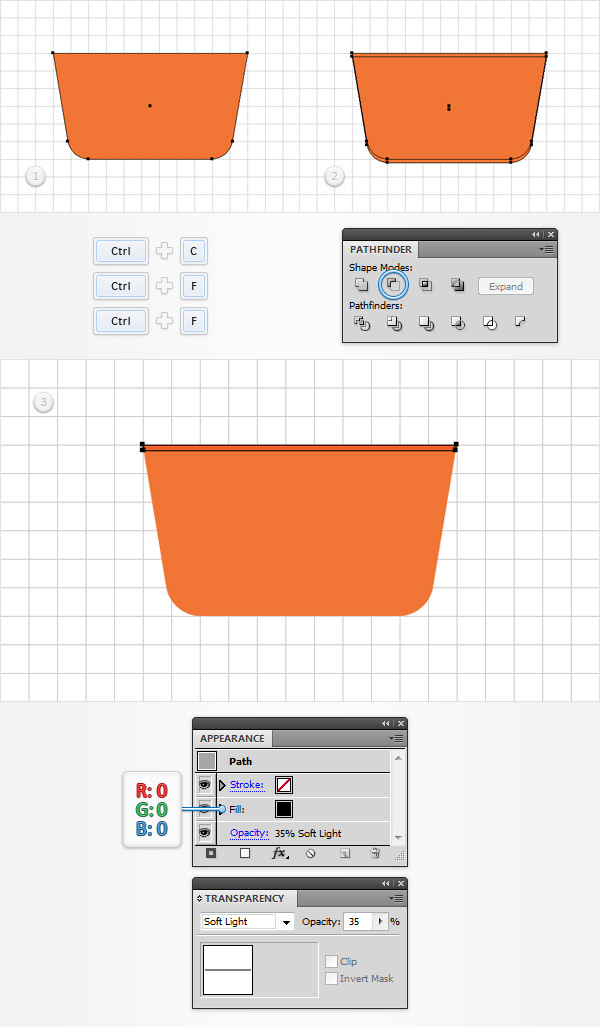 How to Create a Shopping Basket Icon in Adobe Illustrator 4