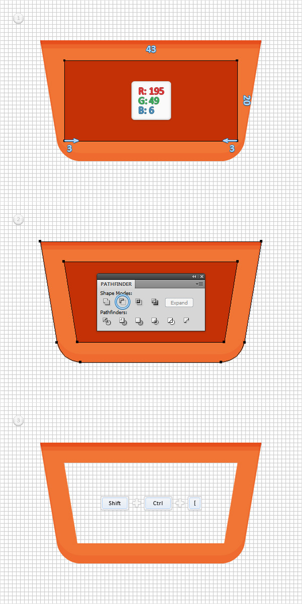 How to Create a Shopping Basket Icon in Adobe Illustrator 7