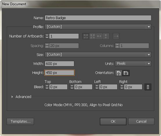 Create a Gorgeous Retro Badge in Adobe Illustrator 1