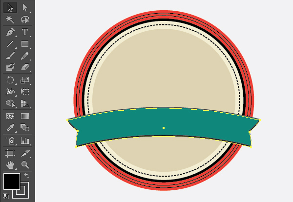 Create a Gorgeous Retro Badge in Adobe Illustrator 10b