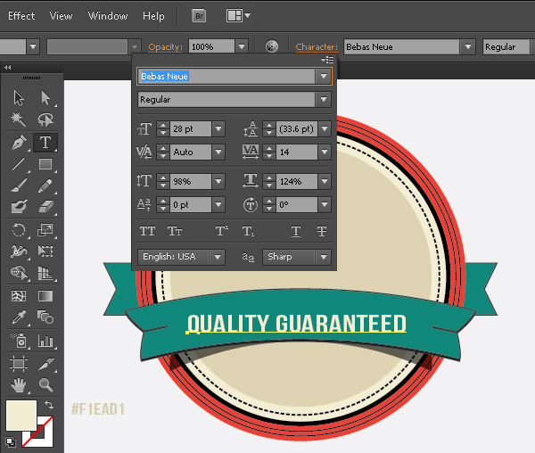 Create a Gorgeous Retro Badge in Adobe Illustrator 14