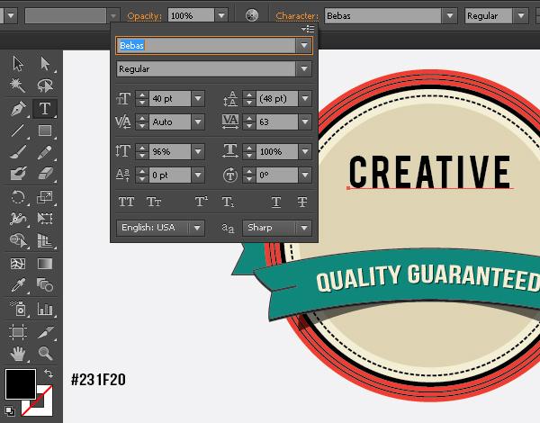 Create a Gorgeous Retro Badge in Adobe Illustrator 16