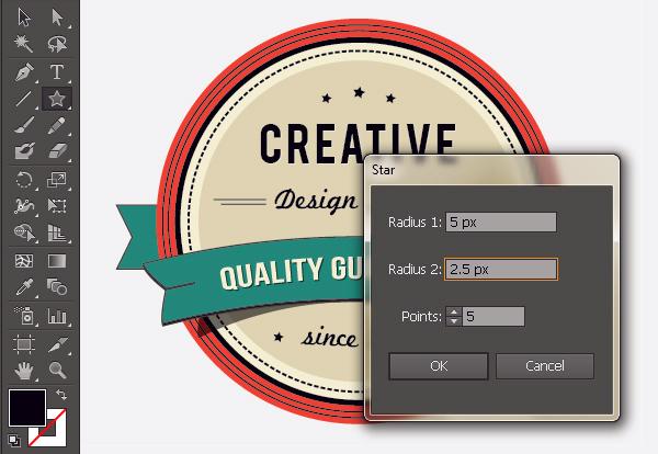 Create a Gorgeous Retro Badge in Adobe Illustrator 18