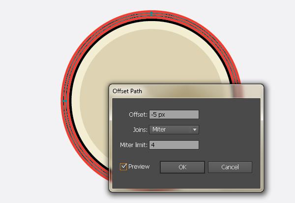 Create a Gorgeous Retro Badge in Adobe Illustrator 6c