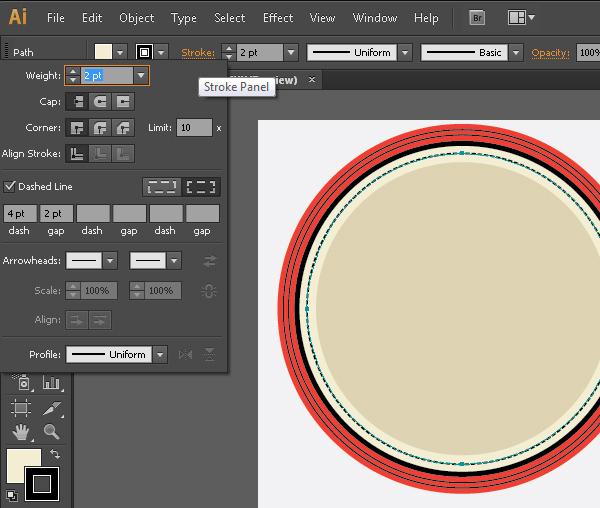 Create a Gorgeous Retro Badge in Adobe Illustrator 7b