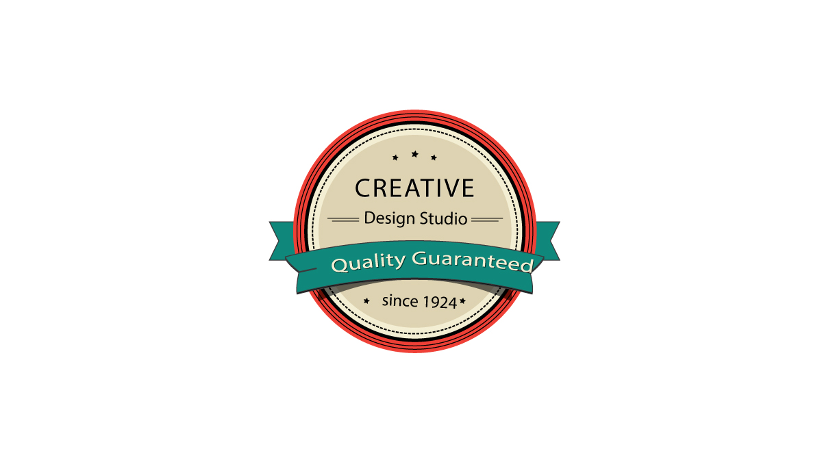 Create a Gorgeous Retro Badge in Adobe Illustrator