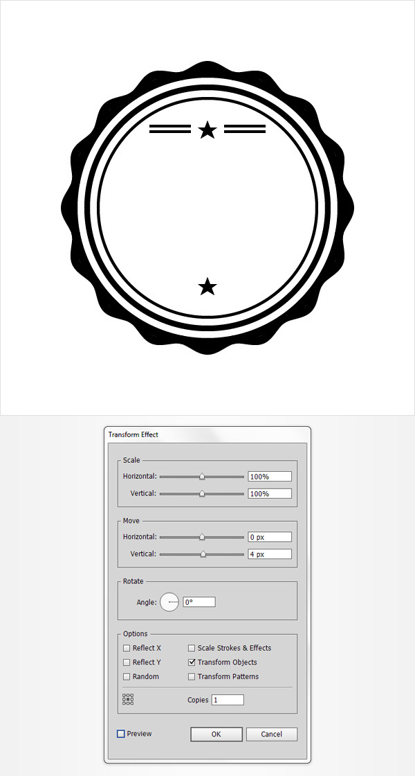How to Create a Vintage Web Badge 13