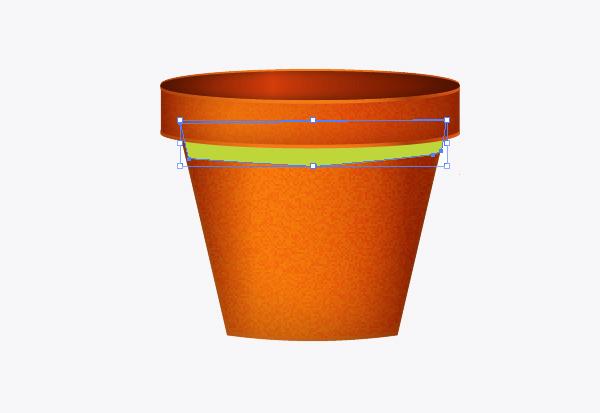 Create a flowerpot from scratch in  Adobe Illustrator 16