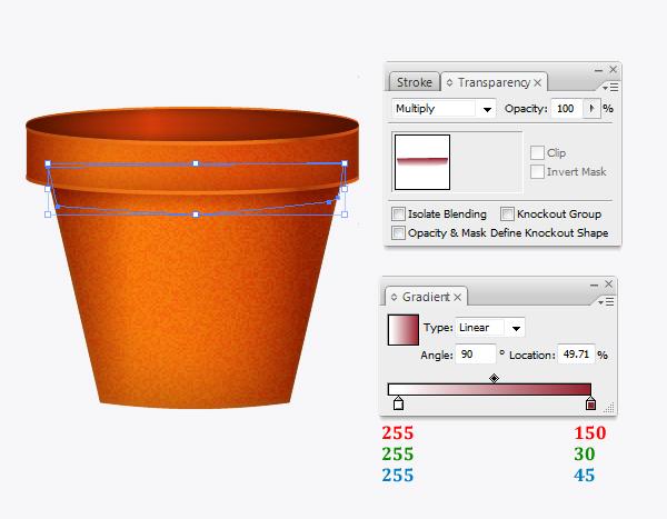 Create a flowerpot from scratch in  Adobe Illustrator 17