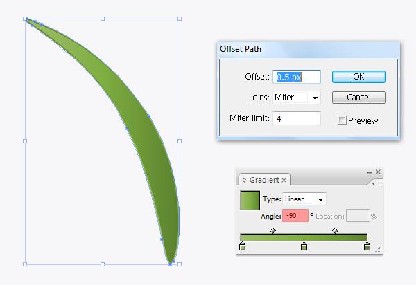 Create a flowerpot from scratch in  Adobe Illustrator 22