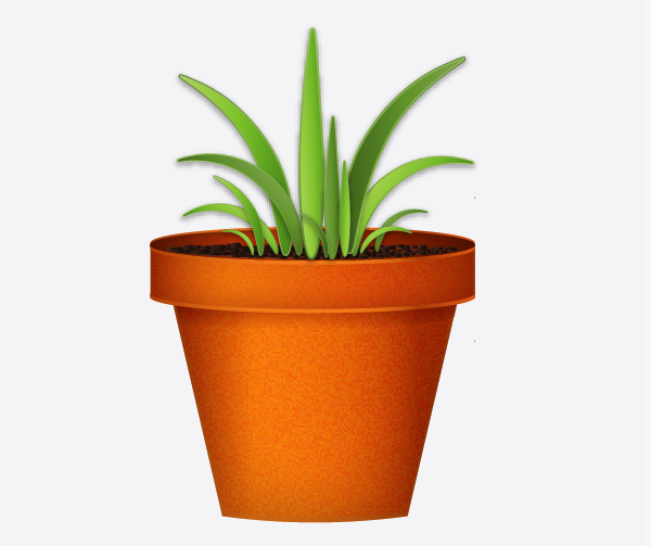 Create a flowerpot from scratch in  Adobe Illustrator 29