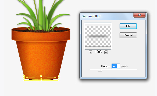 Create a flowerpot from scratch in  Adobe Illustrator 34