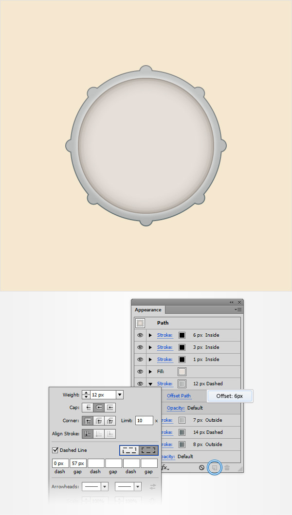 How to Create a Simple Drum Icon 11