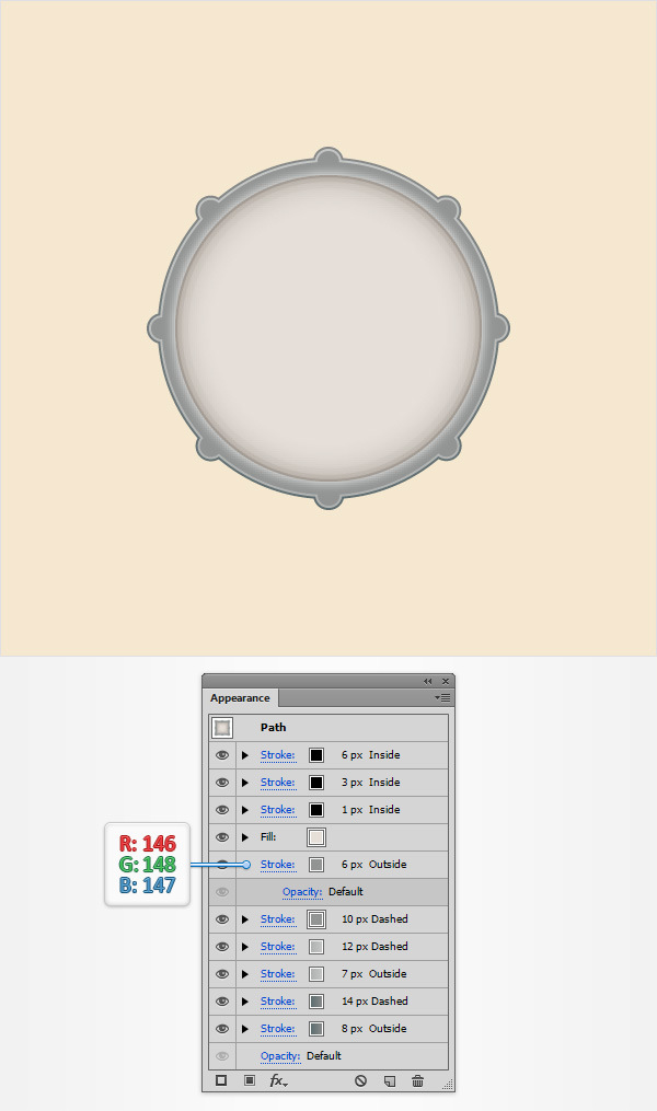 How to Create a Simple Drum Icon 13