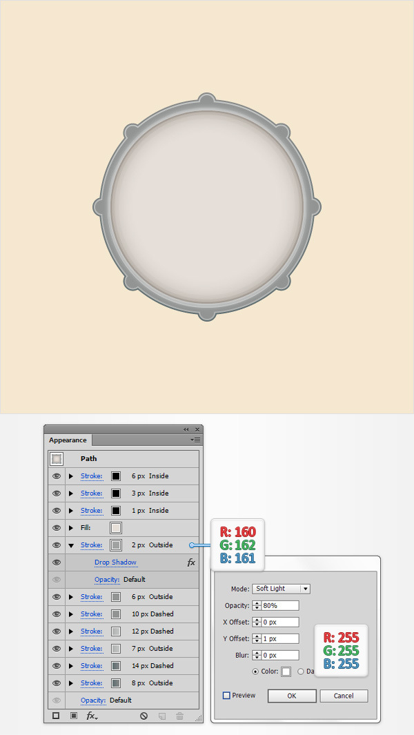 How to Create a Simple Drum Icon 14