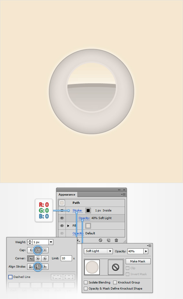 How to Create a Simple Drum Icon 5