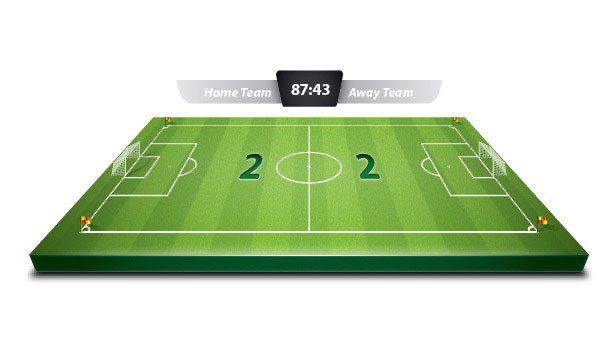 How to Create a 3D Soccer Field in Illustrator
