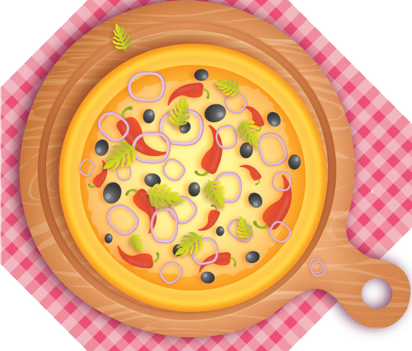 How to create delicious pizza in illustrator
