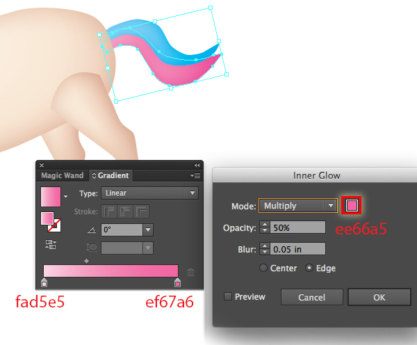 How to Draw a Unicorn Illustration in Illustrator 19