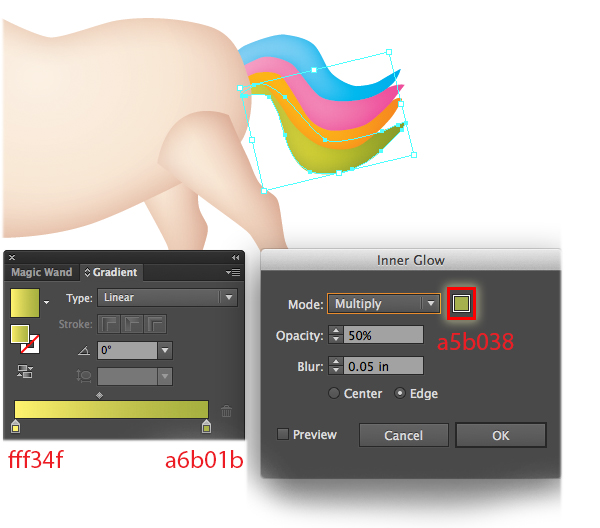How to Draw a Unicorn Illustration in Illustrator 21