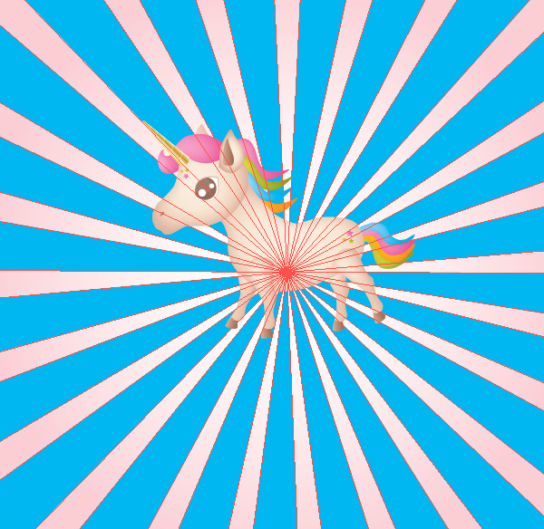 How to Draw a Unicorn Illustration in Illustrator 40