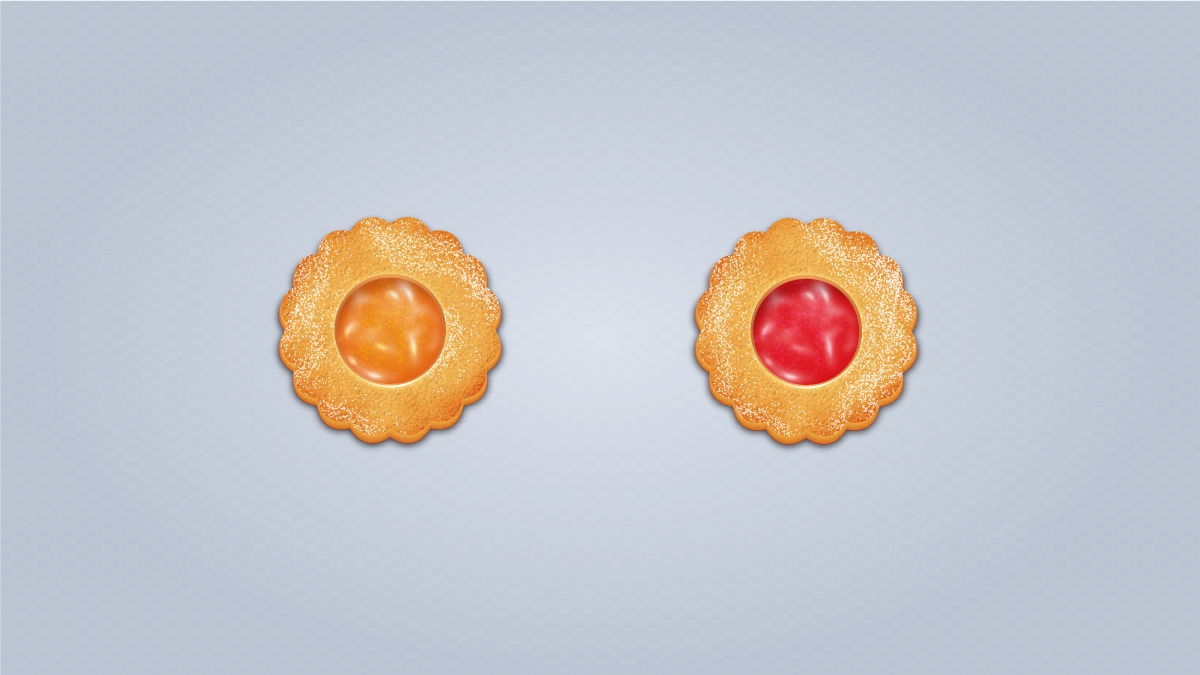 How to Draw Yummy Jam Cookies in Adobe Illustrator
